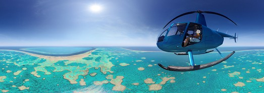 The Great Barrier Reef, Australia. Part I - AirPano.com • 360 Degree Aerial Panorama • 3D Virtual Tours Around the World