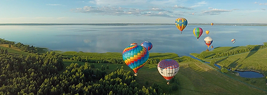 The Golden Ring of Russia Air Balloon festival. Part I - AirPano.com • 360 Degree Aerial Panorama • 3D Virtual Tours Around the World