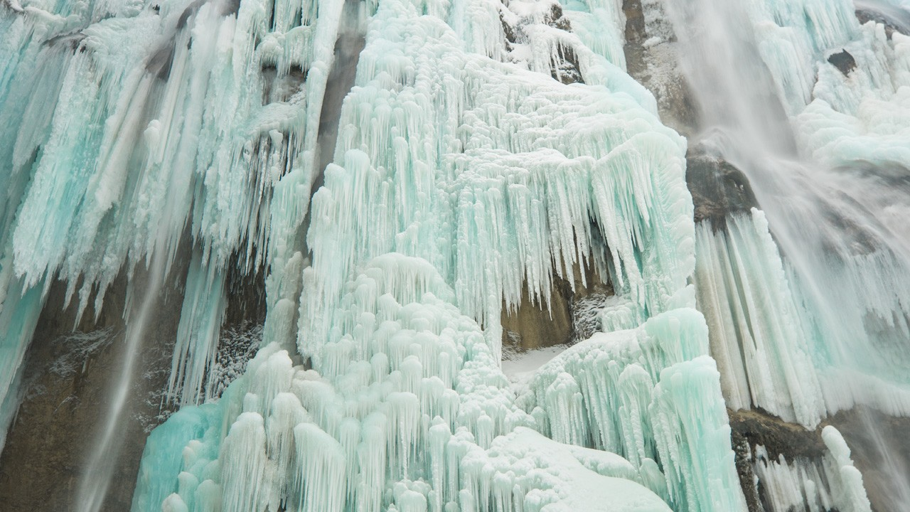 Plitvice Lakes National Park In Winter Croatia