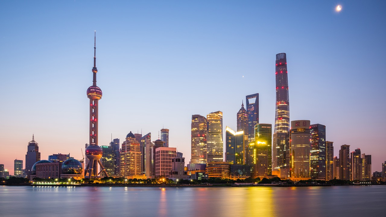 Shanghai, China  The most populous city in the world