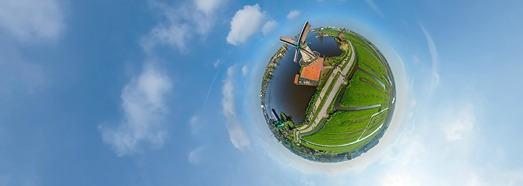 Windmills of Holland. Part II - AirPano.com • 360 Degree Aerial Panorama • 3D Virtual Tours Around the World