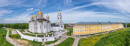 Golden Ring of Russia, Vladimir - AirPano.com • 360 Degree Aerial Panorama • 3D Virtual Tours Around the World