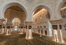 Inside Sheikh Zayed Grand Mosque #1