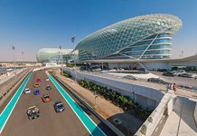 Yas Viceroy Hotel Overlooking Formula 1 Racetrack #1