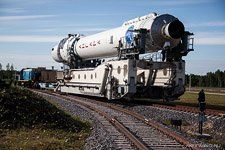First launch of the Angara rocket #13 (© NetWind.ru)