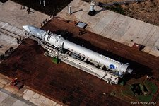 First launch of the Angara rocket #9 (© NetWind.ru)