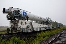 First launch of the Angara rocket #12 (© NetWind.ru)