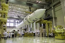First launch of the Angara rocket #8 (© NetWind.ru)