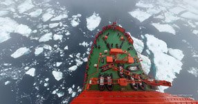 Nuclear-powered icebreaker «50 Let Pobedy» #8