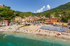 Beach of Monterosso al Mare