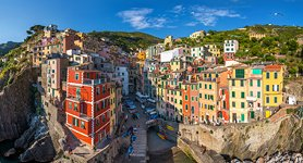 Near the coast of Riomaggiore