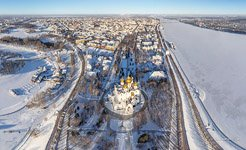 Bird's eye view of the Assumption Cathedral #2