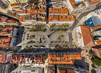 Above the Rossio Square (Pedro IV Square)