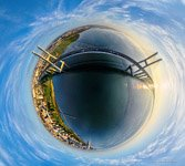 Vasco da Gama Bridge. Planet #2