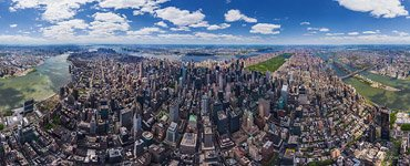 Panorama of Manhattan #1