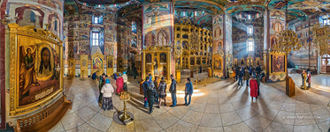 Interior of the Assumption Cathedral