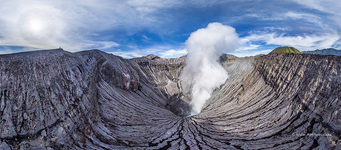 Crater of the Bromo volcano #1