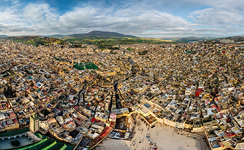 Bird's eye view of Fes #4
