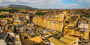 Bird's eye view of Fes #1