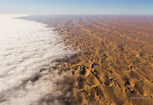 Mist above the Namib Desert #3