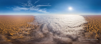 Mist above the Namib Desert #4