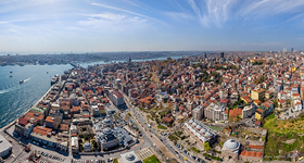 Bird's eye view of Istanbul #2