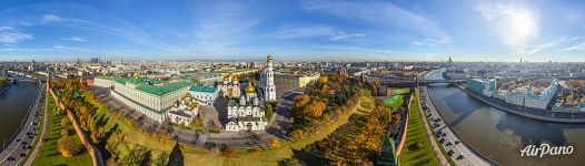 Moscow Kremlin in autumn