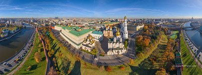 Bird's Eye View of the Moscow Kremlin #4