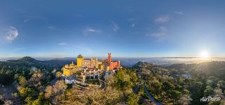 Pena National Palace. Panorama