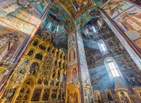 Inside the Assumption Cathedral, Sergiyev Posad