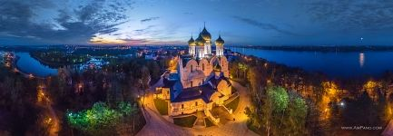 Assumption Cathedral at night, Yaroslavl