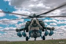 Anti-armor attack helicopter Mi-28