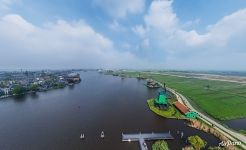 Above Zaan River