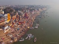 Above Ghats of Varanasi