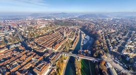 Bird's eye view of Bern