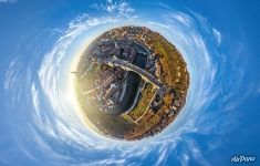 Nydeggbrücke Bridge. Planet
