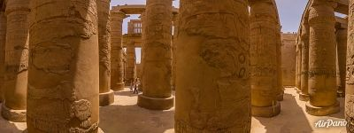 Hypostyle hall of Karnak Temple Complex