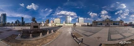 Panorama of Chinggis Square