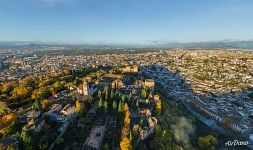 Above the Alhambra