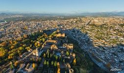 Alhambra top view