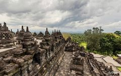 South terrace of Borobodur