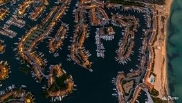 Port Grimaud from above