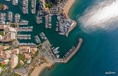 Above the Port Fréjus