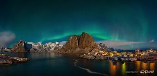 Aurora Borealis in the Lofoten Islands