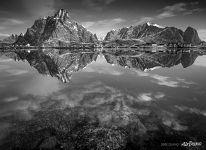 Norway in black and white
