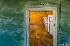 Interior of house in Kolmanskop