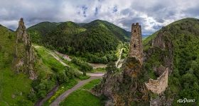 Vovnushki. Medieval complex of Ingush towers