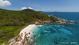 Above Anse Marron, La Digue