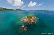 St. Pierre islet off the coast of Praslin
