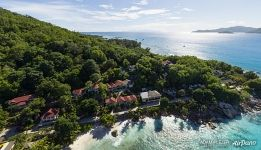 Anse Patate and Patatran Village Hotel, La Digue